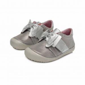 D.D.Step usnjeni čevlji Srebrni 063 (25 – 30)