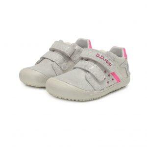 D.D.Step usnjeni čevlji Srebrni 063 (31 – 36)