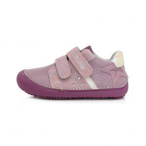 D.D.Step usnjeni čevlji Vijolični 063