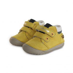D.D.Step usnjeni čevlji Rumeni 070 (20 – 25)