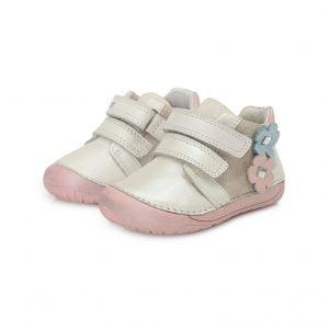 D.D.Step usnjeni čevlji Beli 070