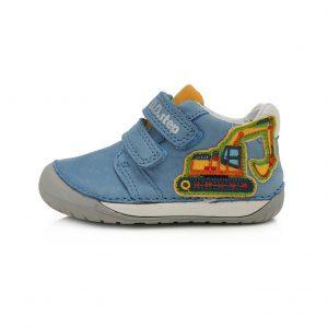 D.D.Step usnjeni čevlji Modri 070