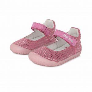 D.D.Step usnjene balerinke Roza 070