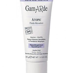 Fluid za občutljivo mastno in mešano kožo – atopijski dermatitis – tuba 40 g POTRJENO VEGANSKO
