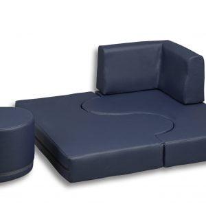Sedežna – enosed z izrezom